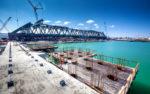 Крымский мост: возведена половина опор